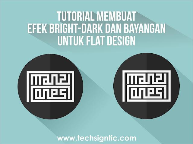 Long Shadow Flat Design