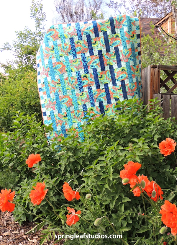 Interweave quilt pattern with Amy Butler