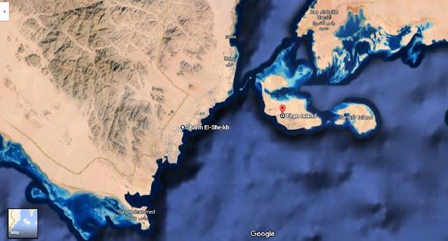 نقل السيادة علي جزيرتي تيران وصنافير للسعودية ولكن تحت الإدارة المصرية