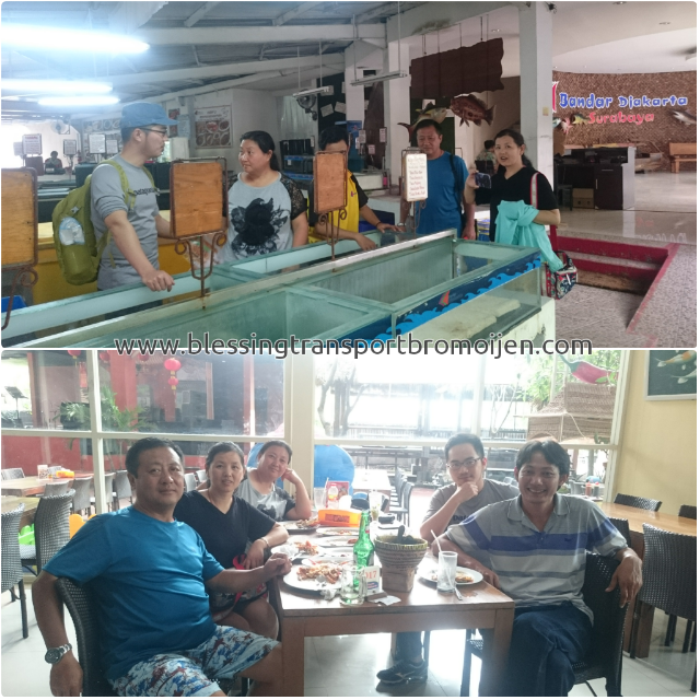 Tony Xu and Colleague (CN), transport from Surabaya Airport to Mount Bromo 2D1N. January 19th to 20th, 2017