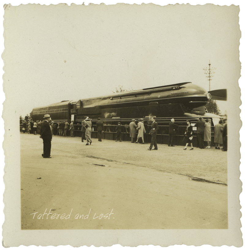 TATTERED AND LOST PHOTOGRAPHS: THE BIG ENGINE, PRR S1 at the