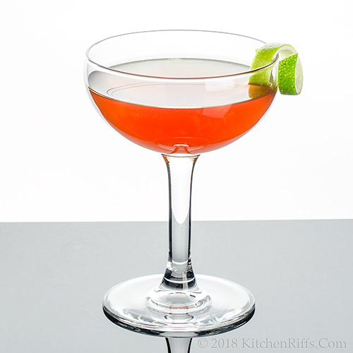 Fluffy Ruffles Cocktail
