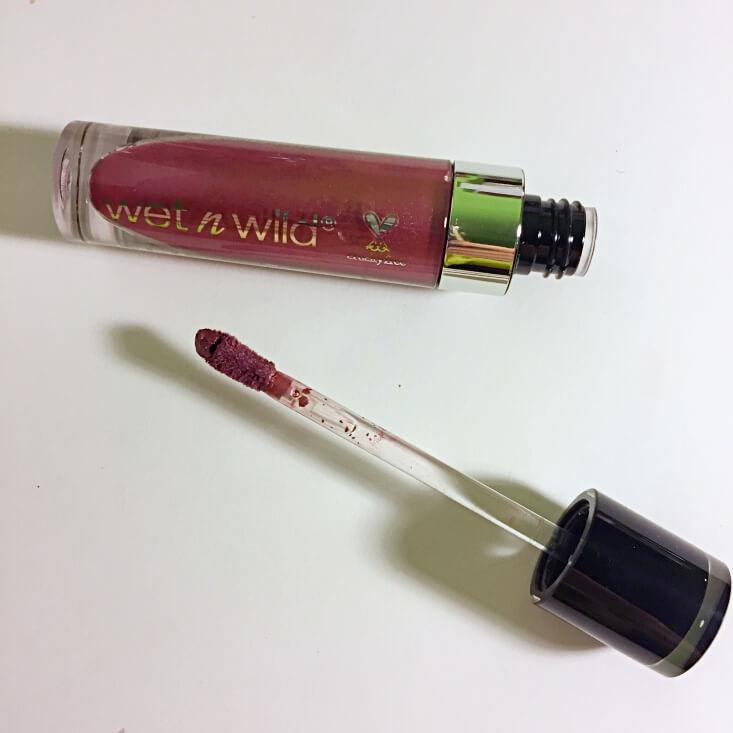 wet n wild megalast Liquid Catsuit Metallic Lipstick Acai So Serious