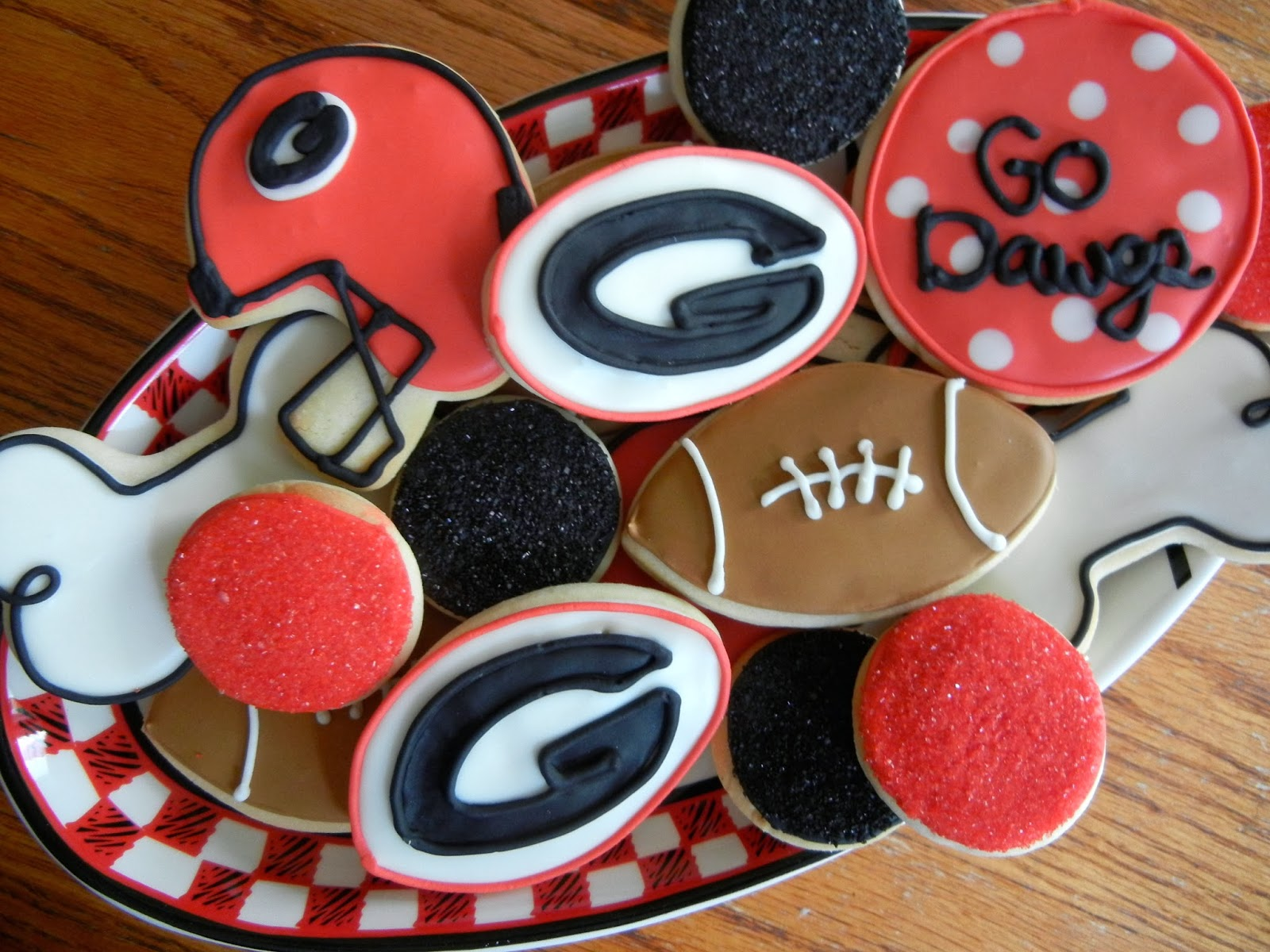georgia bulldog cupcakes kristen s cupcakery the dawgs and shattered dreams 3588