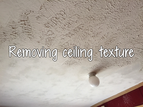 removing ceiling texture