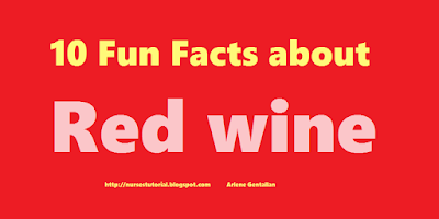 10 Fun Facts about Red wine