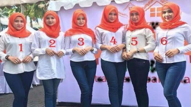 Hanya Dengan Menebak 6 Wanita Cantik berhijab Ini, Kepribadianmu Akan Terungkap