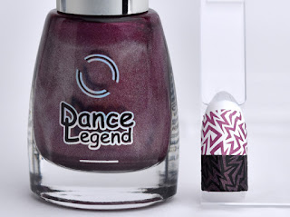 Regular nail polish stamping /  [Dance Legend] Optical Illusion, スタンピングネイル