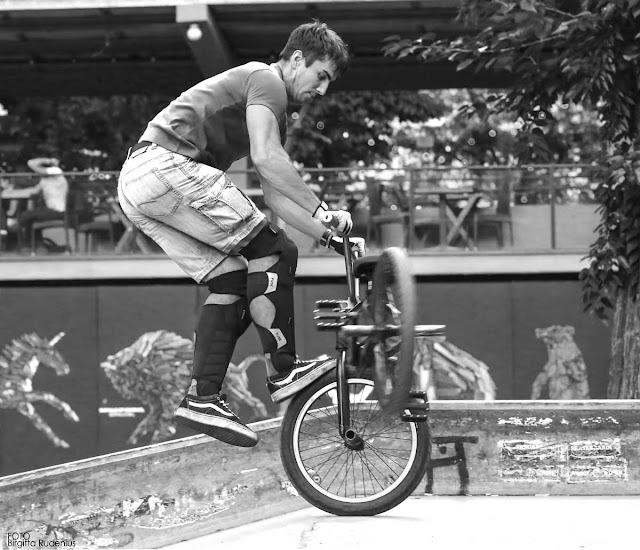 Street Photography - Mark, The Biker