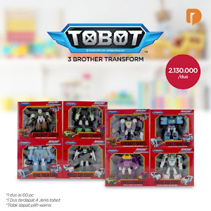 Tobot 3 Brother Transform