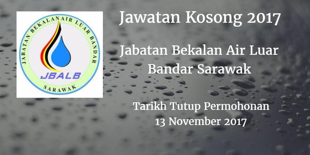 Jawatan Kosong Jabatan Bekalan Air Luar Bandar Sarawak 06 November 2017
