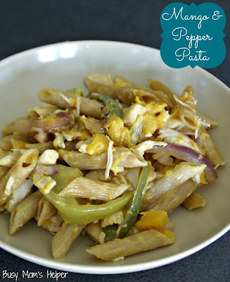 Mango and Pepper Pasta