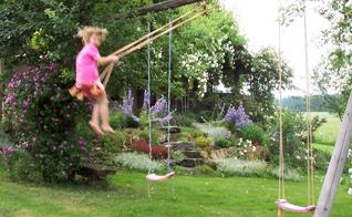 Urlaub im Garten mit Kindern, Kinder im Garten, Familiengarten, Ferien im Garten