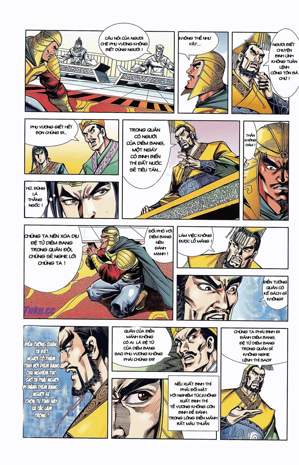 Tần Vương Doanh Chính chapter 8 trang 26