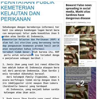 PENJELASAN : [HOAX] TUMOR CANCER DARI IKAN AKIBAT LOGAM BERAT