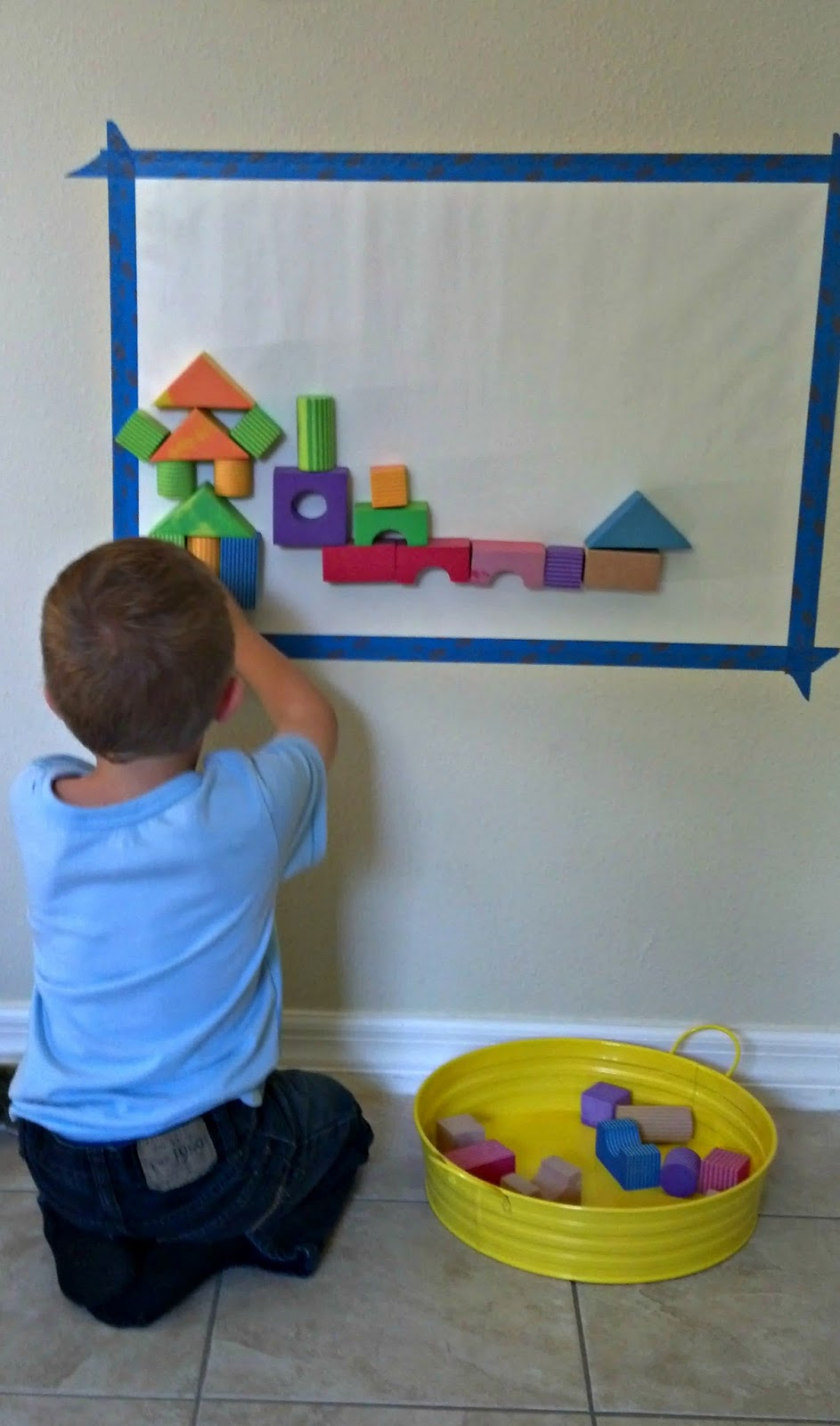 Little Moments: Four Foam Block Building Ideas
