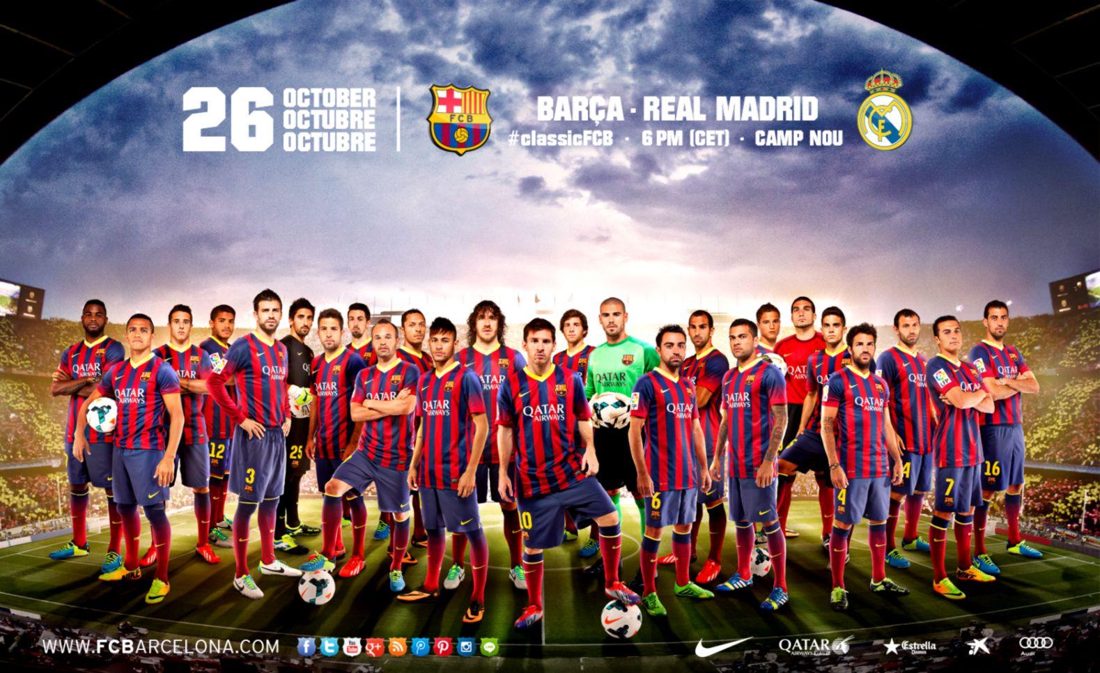 Fc Barcelona 2013 Wallpaper Wallpapers Sheet