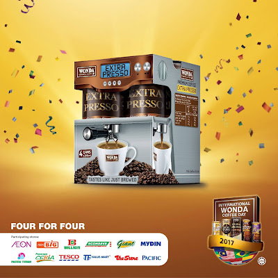 4 Cans WONDA Coffee RM4 Supermarket Offer