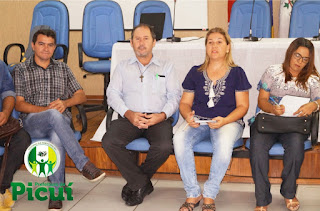 Secretaria de Promoção Social realiza reunião geral junto com o prefeito Olivânio Remígio