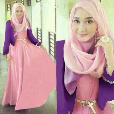 model baju gamis muslimah remaja
