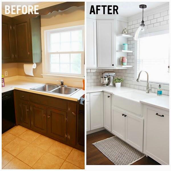 Decotips renovar la cocina con un presupuesto low cost - Cambiar suelo cocina sin quitar muebles ...