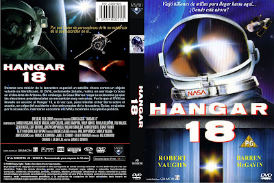 Cover, carátula dvd: Hangar 18 | 1980 | Hangar 18 (Invasion Force)