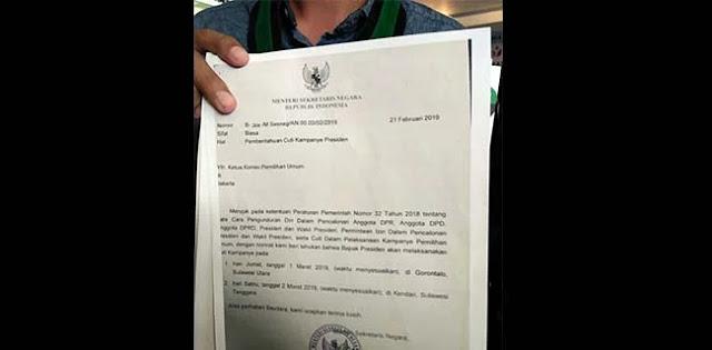 Laporkan Jokowi ke Sentra Gakkumdu, Ini Bukti yang Dibawa HMI