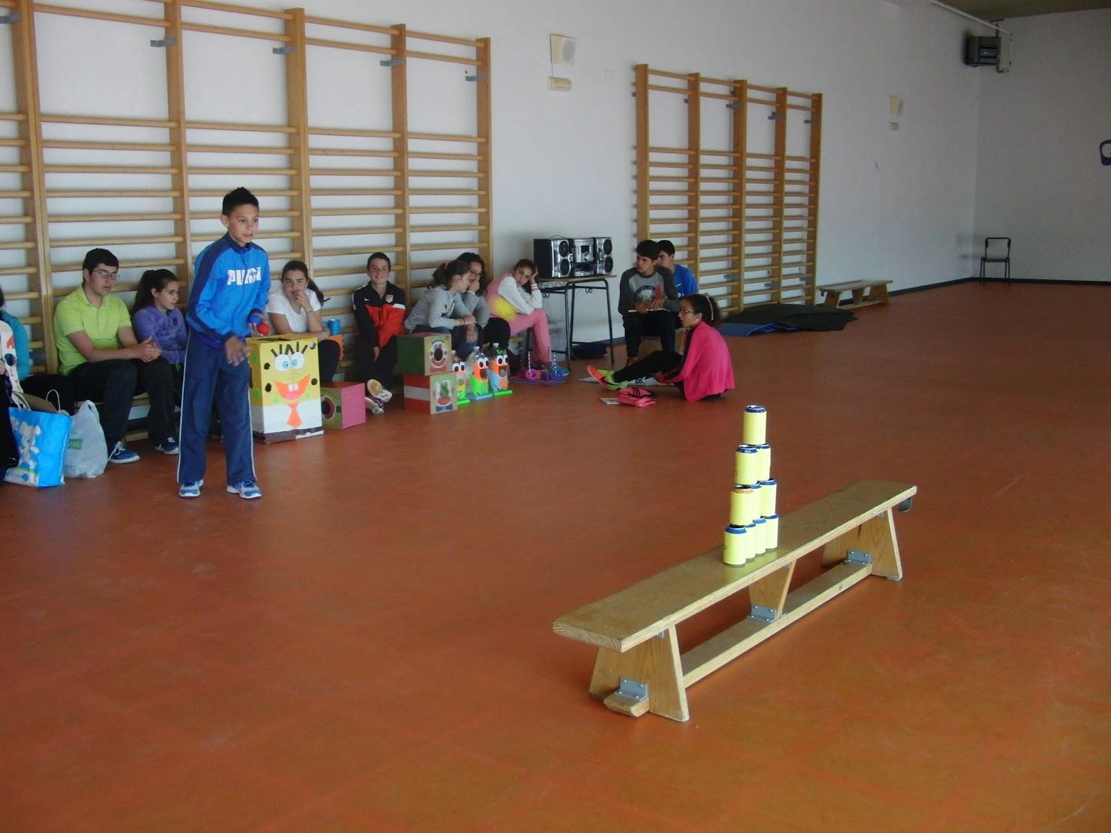 Educacion Fisica Juegos De Punteria Inventados Por Los Alumnos De