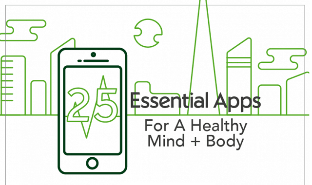 25 essential apps for a healthy mind and body