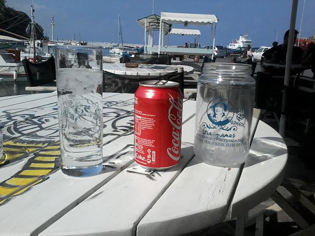 tavolino porto acqua ghiaccio