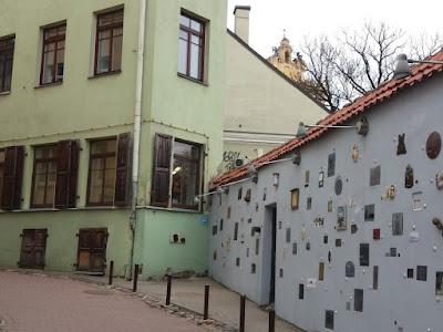 literary street vilna