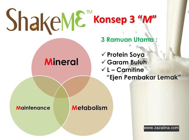 diet dengan shake me turunkan berat badan