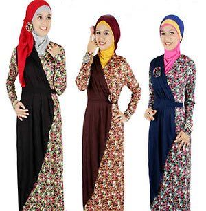 long dress muslim remaja terkini