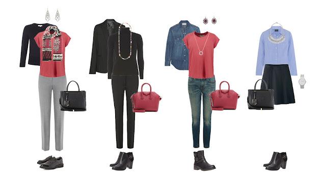 Аксессуары для базового гардероба