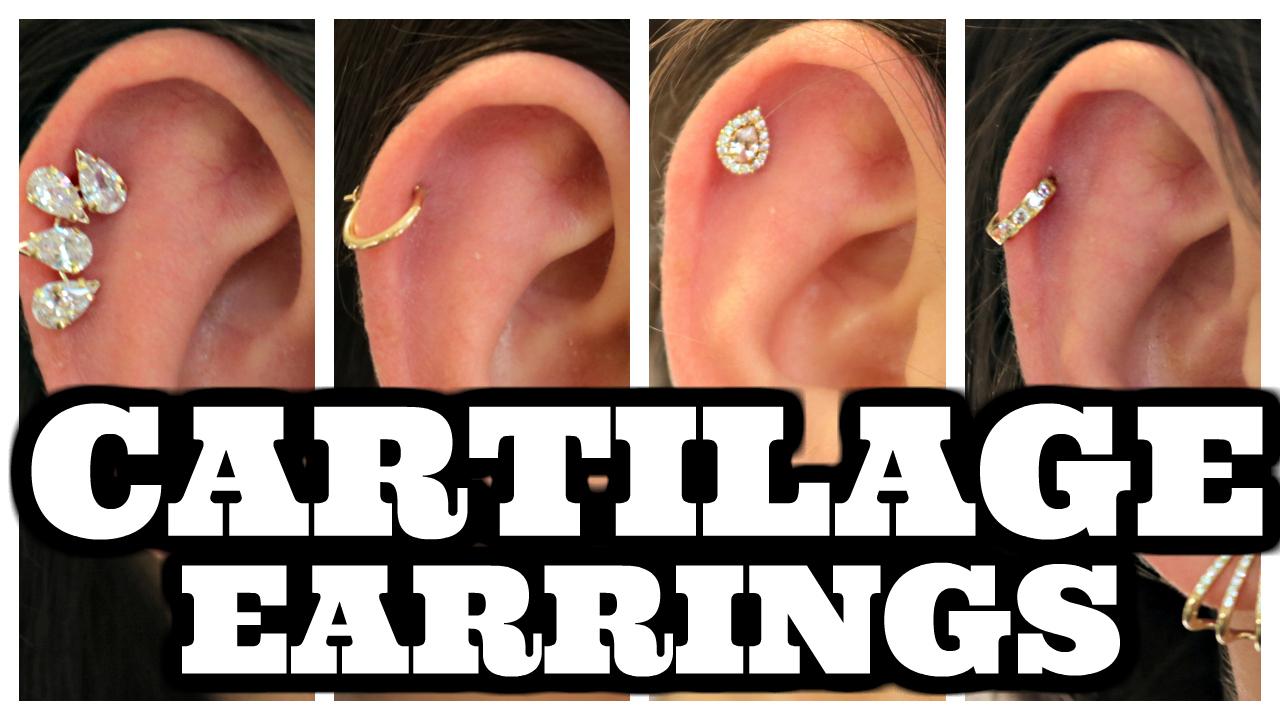 Hello Crisst Earrings For Cartilage