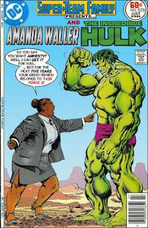 Amanda Waller and The Hulk