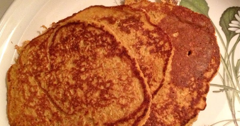 Carrot Cake Pancakes No Flour