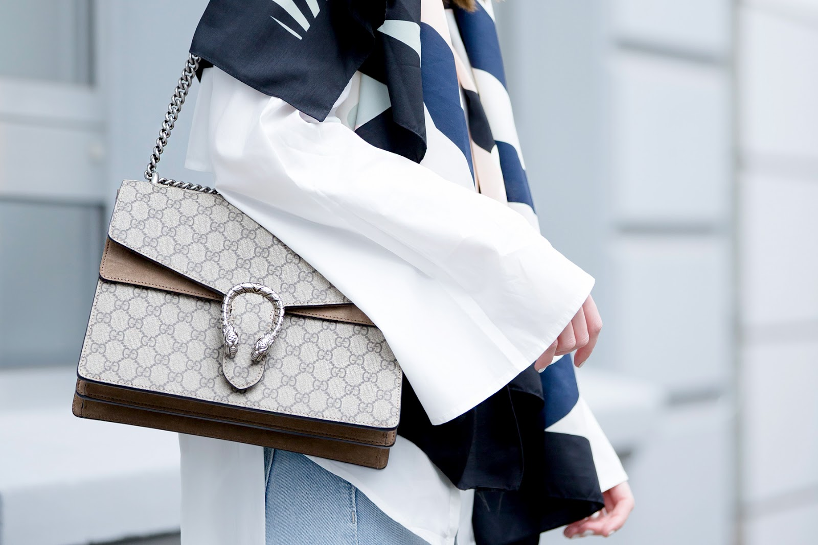 gucci dionysus bag streetstyle cat & dogs fashion blogger