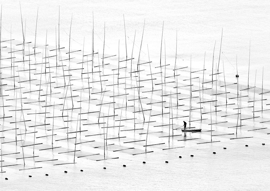 These Are The 35 Best Pictures Of 2016 National Geographic Traveler Photo Contest - Farming The Sea, China