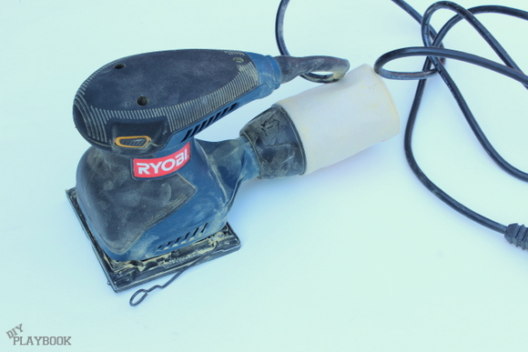 The Ryobi palm sander is easy to master