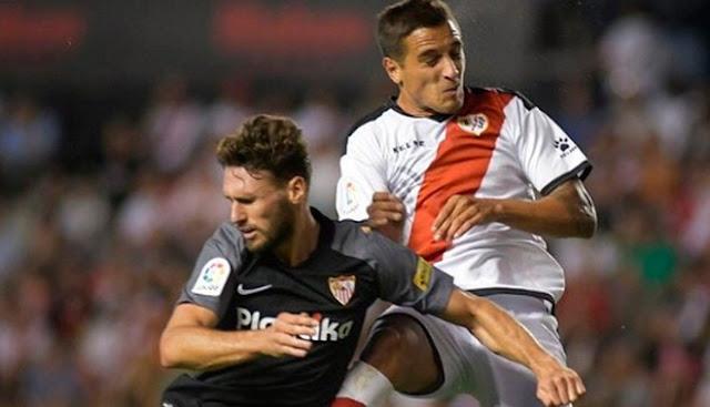 Sevilla vs Rayo Vallecano VER EN VIVO ONLINE por la fecha 34 de la liga española.