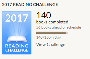 Goodreads - 2017 Reading Challenge #3