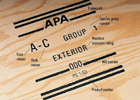 plywood grade stamp