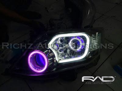 spesialis custom modifikasi headlamp mobil jakarta