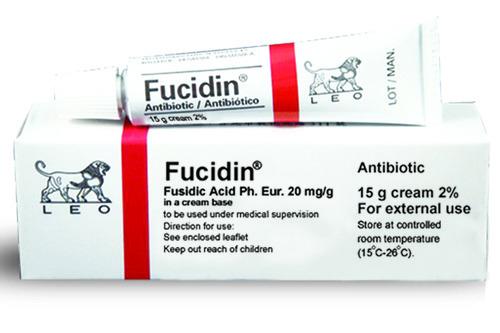 الفرق بين فيوسيدين Fucidin البرتقالي و الأحمر و الأسود و الأصفر