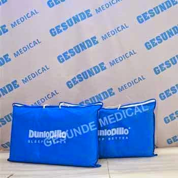grosir bantal dunlopillo sintetis latex