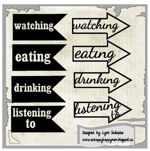 Eating Drinking Lynn Shokoples Cameo Cut File