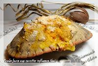 http://gourmandesansgluten.blogspot.fr/2013/12/crabe-farce-aux-carottes-influence-thai.html