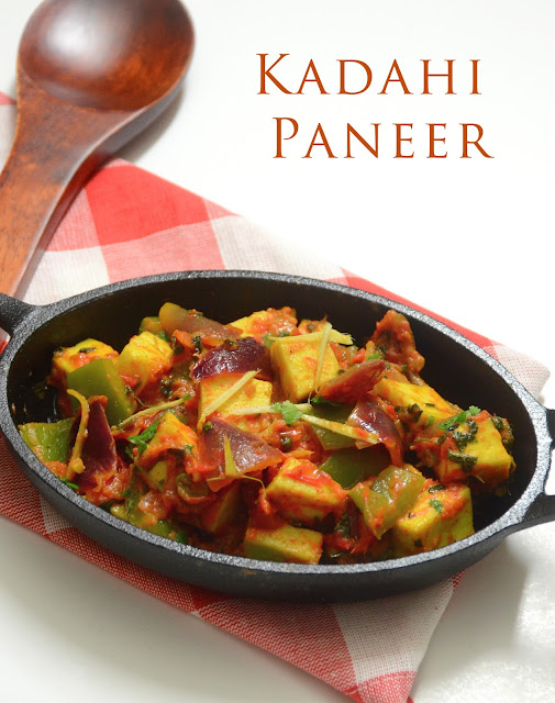 Kadahi Paneer Recipe / Quick Paneer Sabzi / Low Calorie Recipe