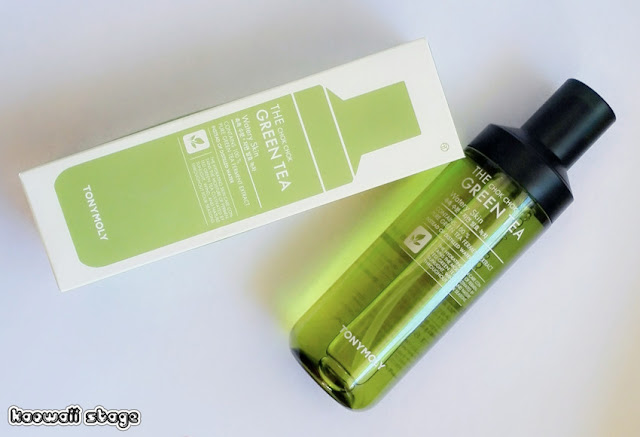 tony moly green tea toner skin chok